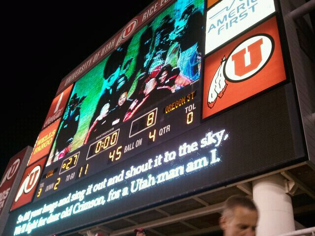 Utah Wins First Pac 12 Game